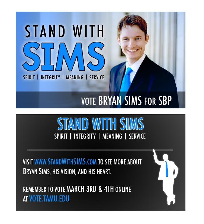 Student Election Campaign - Brian Hutson // Business Creative